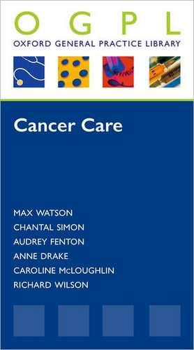 Cancer Care de Max Watson