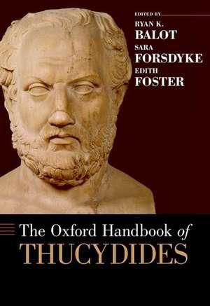 The Oxford Handbook of Thucydides