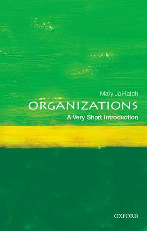 Organizations: A Very Short Introduction imagine