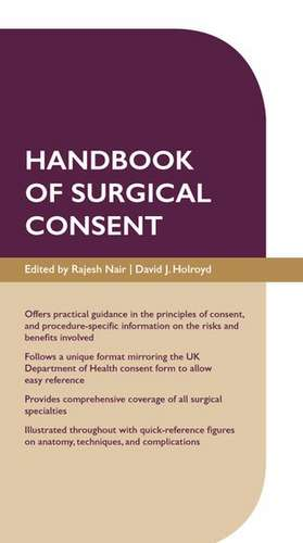 Handbook of Surgical Consent