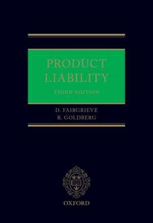 Product Liability de Duncan Fairgrieve