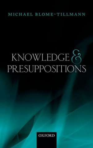 Knowledge and Presuppositions imagine