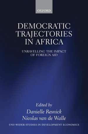 Democratic Trajectories in Africa imagine
