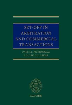 Set-Off in Arbitration and Commercial Transactions imagine