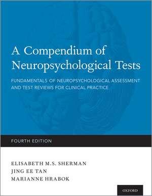 A Compendium of Neuropsychological Tests imagine