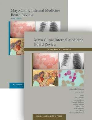 Mayo Clinic Internal Medicine Board Review  (set) de Robert D. Ficalora