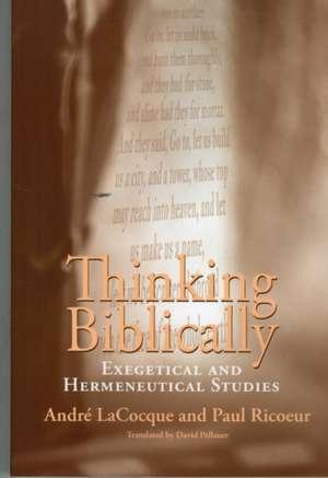 Thinking Biblically