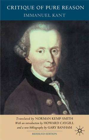 Critique of Pure Reason, Second Edition de I. Kant