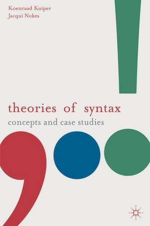 Theories of Syntax imagine