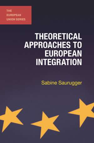 Theoretical Approaches to European Integration imagine