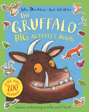 The Gruffalo Sticker Activity Book de Julia Donaldson