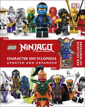 LEGO® Ninjago Character Encyclopedia Updated and Expanded: With Minifigure de DK