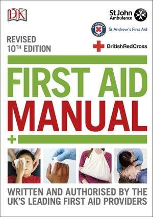 First Aid Manual imagine