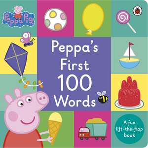 Peppa Pig: Peppa's First 100 Words imagine