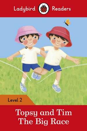 Topsy and Tim: The Big Race – Ladybird Readers Level 2 de Jean Adamson