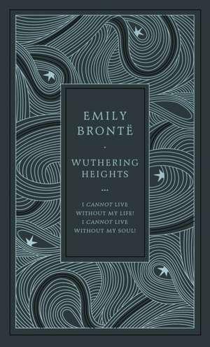 Wuthering Heights, ediție specială legată în piele de Emily Brontë