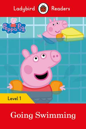 Peppa Pig Going Swimming - Ladybird Readers Level 1 de Ladybird
