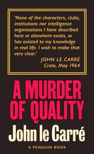 A Murder of Quality imagine