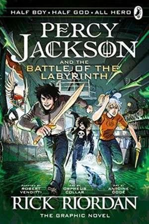 The Battle of the Labyrinth: The Graphic Novel (Percy Jackson Book 4) de Rick Riordan