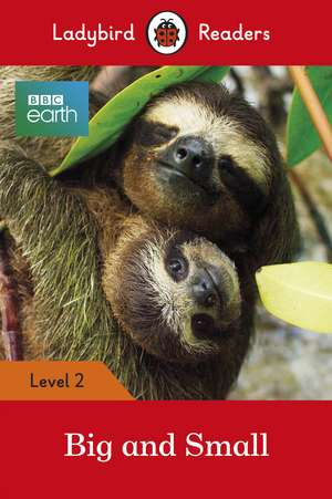 BBC Earth: Big and Small - Ladybird Readers Level 2 de Ladybird