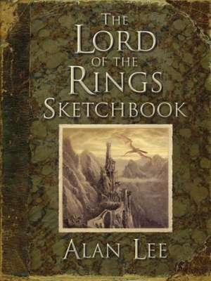 """The """"Lord of the Rings"""" Sketchbook de Alan Lee"""