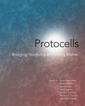 Protocells – Bridging Nonliving and Living Matter de Steen Rasmussen