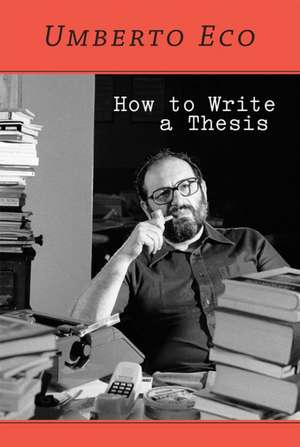 How to Write a Thesis imagine