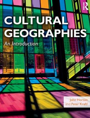 Cultural Geographies imagine