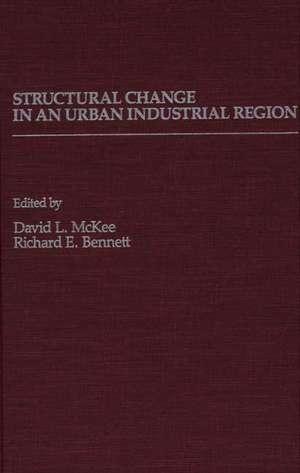 Structural Change in an Urban Industrial Region:  The Northeastern Ohio Case de Unknown