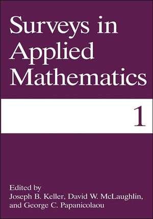 Surveys in Applied Mathematics de Joseph B. Keller