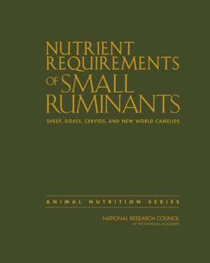Nutrient Requirements of Small Ruminants imagine