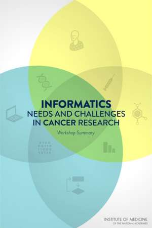 National Cancer Policy Forum: Informatics Needs and Challeng