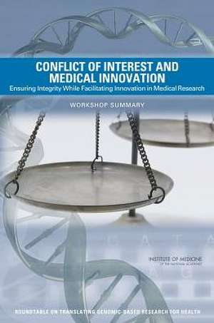 Conflict of Interest and Medical Innovation