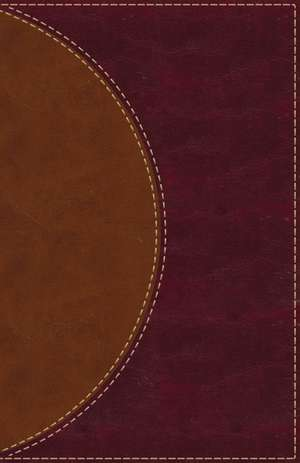 Amplified Reading Bible, Leathersoft, Brown, Indexed: A Paragraph-Style Amplified Bible for a Smoother Reading Experience de Zondervan