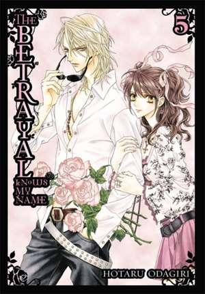 The Betrayal Knows My Name, Vol. 5 de Hotaru Odagiri