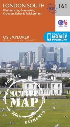 London South, Westminster, Greenwich, Croydon, Esher & Twickenham de  Ordnance Survey