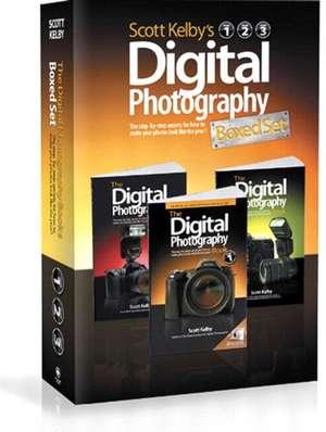 Scott Kelby's Digital Photography Boxed Set, Volumes 1, 2, and 3 de Scott Kelby