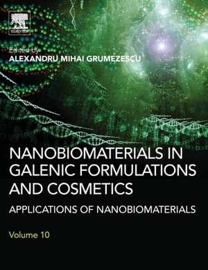 Nanobiomaterials in Galenic Formulations and Cosmetics