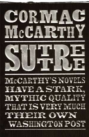 Suttree de Cormac Mccarthy