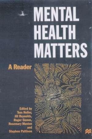 Mental Health Matters imagine