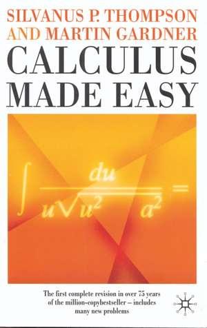 Calculus Made Easy imagine