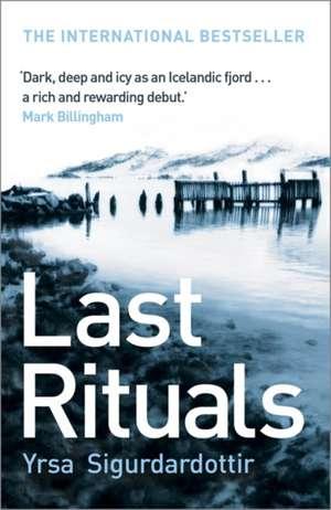 Last Rituals de  Yrsa Sigurdardottir