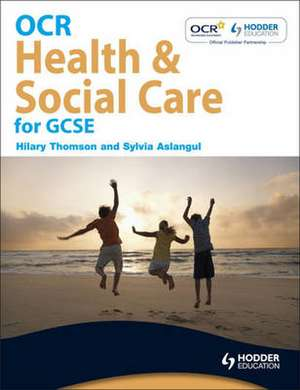 OCR Health and Social Care for GCSE