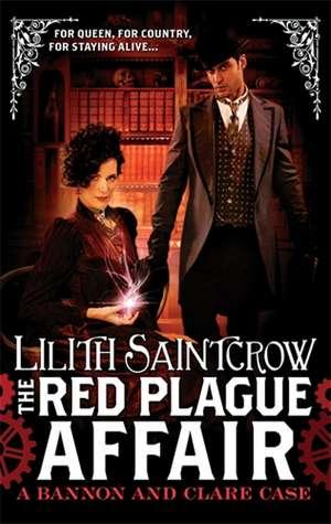 Saintcrow, L: The Red Plague Affair de Lilith Saintcrow
