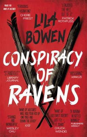 Conspiracy of Ravens de Lila Bowen