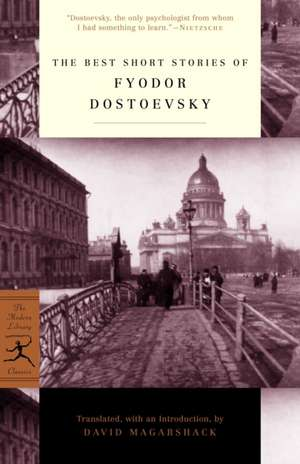 The Best Short Stories of Fyodor Dostoevsky imagine