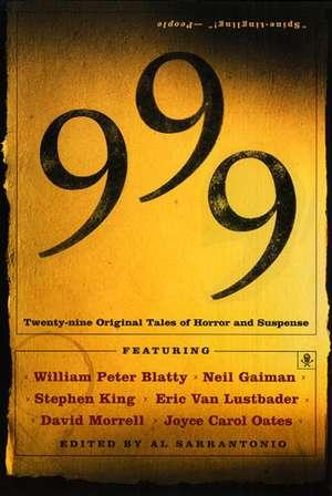 999: Twenty-nine Original Tales of Horror and Suspense de Al Sarrantonio