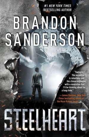 Reckoners 1. Steelheart de Brandon Sanderson
