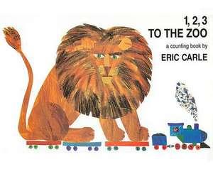 1, 2, 3 to the Zoo de Eric Carle