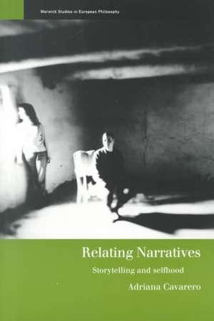 Relating Narratives imagine